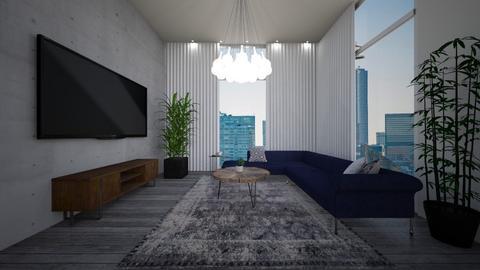 noas home - Living room - by ak designs