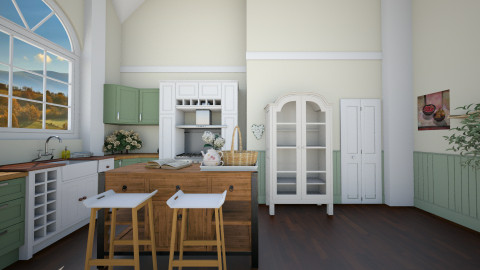 country kitchen - Country - Kitchen  - by megalia42