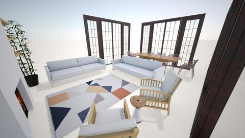 salon - Living room  - by gzmzmn