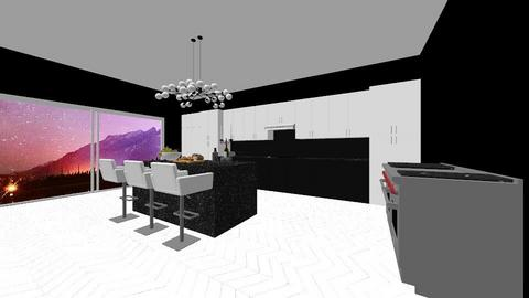 city kitchen - Kitchen  - by 1D wolfgal