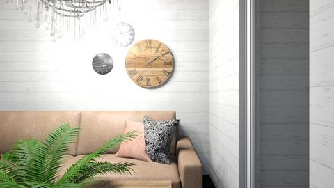 For lusfale - Rustic - Living room  - by greekgirl37