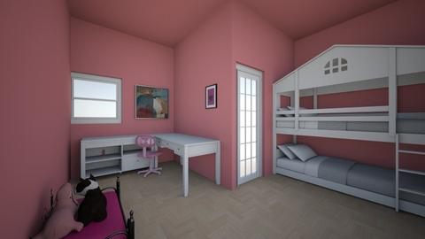 Ailees room - Bedroom  - by Elaine_the_bold