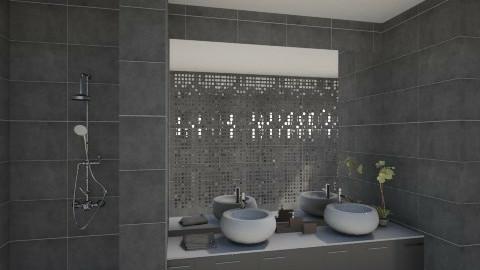 bathroom1 - Minimal - Bathroom  - by mariaemiliahltm