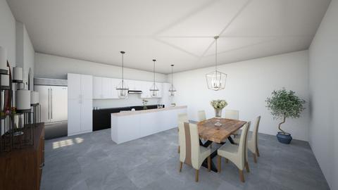 1balyssaharris - Kitchen  - by jrgray