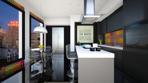 Cozinha  - Kitchen  - by Sanare Sousa