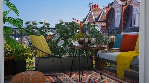 Balcony - by Thrud45