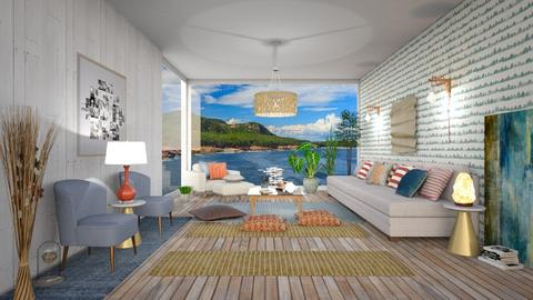 Ocean Life - Living room  - by Ferplace