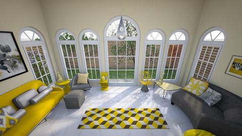 Yellow Garden Nook - Eclectic - Garden  - by KajsaRain