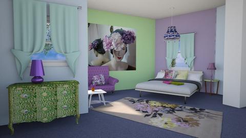 Retro Fifties Flow be - Retro - Living room - by Interiors by Elaine