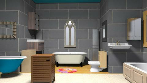A perfect bathroom. - Vintage - Bathroom - by massibs