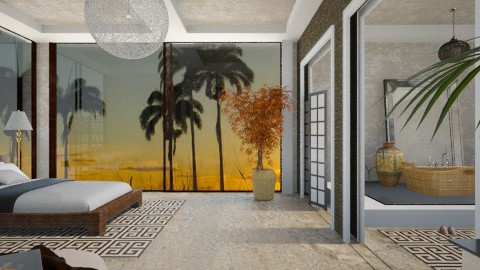 Sunset - Eclectic - Bedroom  - by PomBom