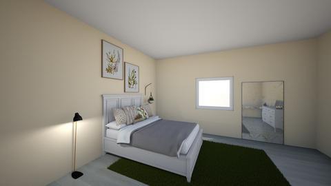 Kalendulas Zimmer - Minimal - Bedroom  - by Mina Petuchov