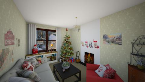 christmas time - Living room - by mycha