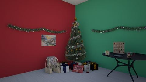 Christmas Room Contest - Living room  - by KatieOfTheCats