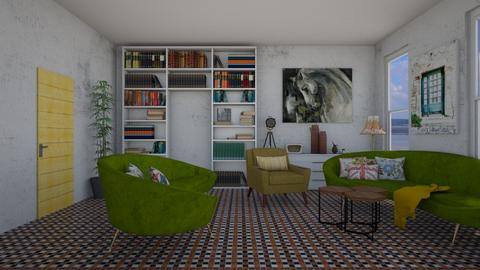 Vintage - Living room - by colorful_eye