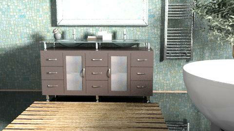 design44 - Glamour - Bathroom  - by blondina14