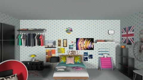 MY ROOM - Minimal - Bedroom  - by Dazzle Dequilla Azas