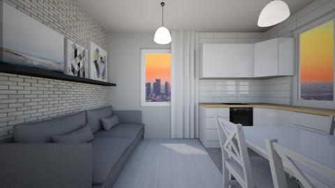 109 - Modern - Living room  - by agnieszka_giez