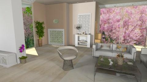 ll, - Living room  - by strella86