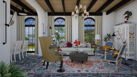 Santa M - Classic - Living room  - by 3rdfloor