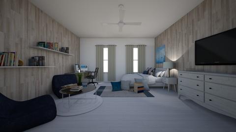 brothers bedroom - Bedroom  - by KenzTheRoomPlaner
