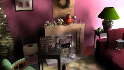 chr3 - Retro - Living room  - by ani_kapanova