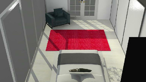 minimalistic room - Minimal - Bedroom  - by jodiangel