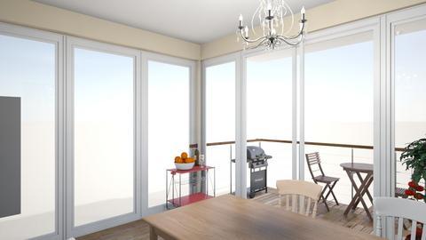 Family_kitchen_dini_v06_1 - Living room - by natajax