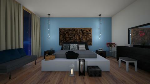 bedroom  - by Weronika Mroowa