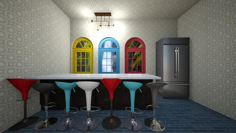 Dining Room - Kitchen  - by Salinas K