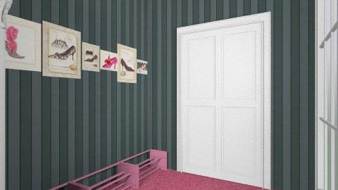 Classic Hollywood - Glamour - Bathroom - by Marsha Monique Schunemann