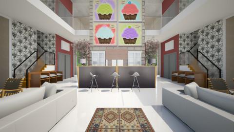 st ariane 32 loft - Vintage - Living room  - by Veny Mully