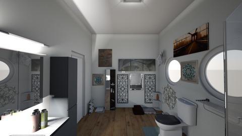 guest bathroom - by YasmeenR
