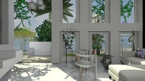 Malia - Eclectic - Living room  - by PomBom