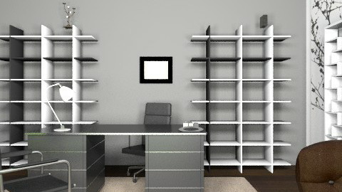 my quiet office - Minimal - Office  - by Sindel
