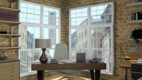 Loft - Office - Eclectic - Office  - by LizyD
