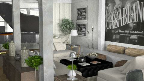 Warehouse - living & dining - Eclectic - Living room  - by du321