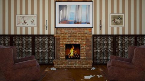 Ye Olde - Living room  - by emivim