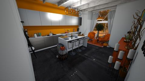 autumn kitchen - Classic - Kitchen  - by ash04