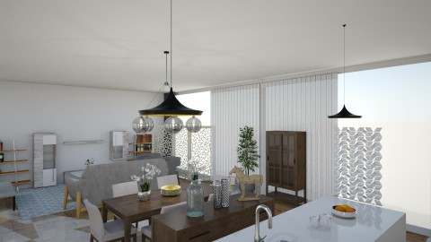 bb - Modern - Living room - by zulay290
