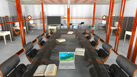 Board room - Modern - Office  - by pie2296