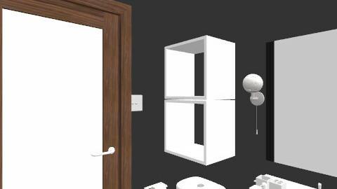 salle de bain/ plan 10 - Retro - Bathroom  - by Yellow1806