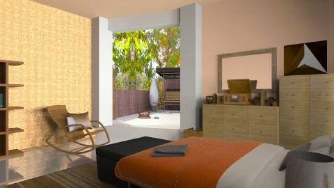 forest bedroom - Vintage - Bedroom  - by katarina_petakovi
