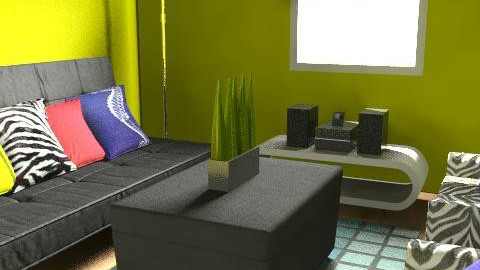 Chill Room 1 - Eclectic - by zenobiadickson