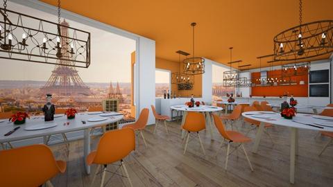 Orange restaurant - Modern - by Agamanta