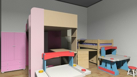 the children room - Modern - Kids room  - by naomi hutahayan