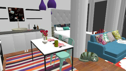 Small Apartment - Eclectic - by carolhardtke