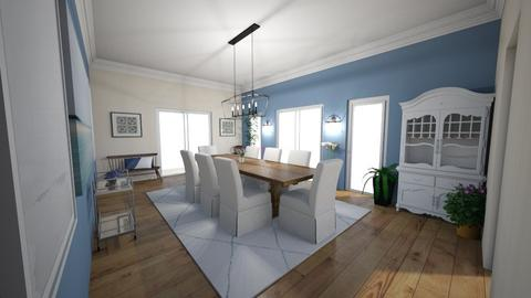 tb - Dining room - by dena15