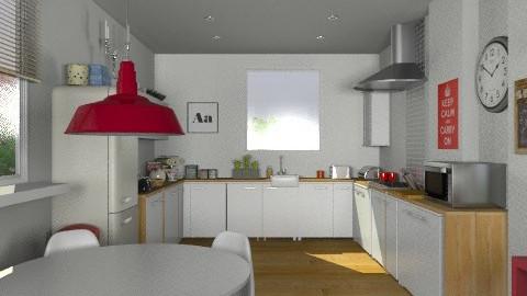 MyKitchen - Modern - Kitchen  - by camilla_saurus