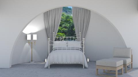 white - Bedroom  - by Mihailovikj Mimi